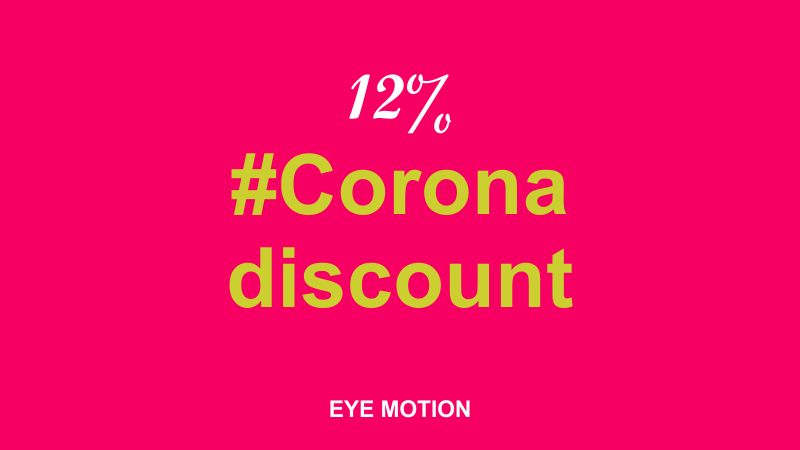 #Corona discount